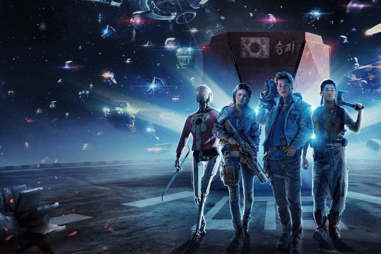 Download dan Streaming Space Sweepers Subtitle Indonesia